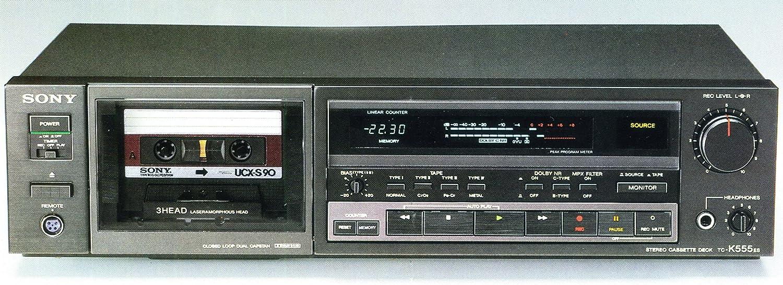 SONY TC-K555ES 3ヘッドカセットデッキ   B0036IG9P8