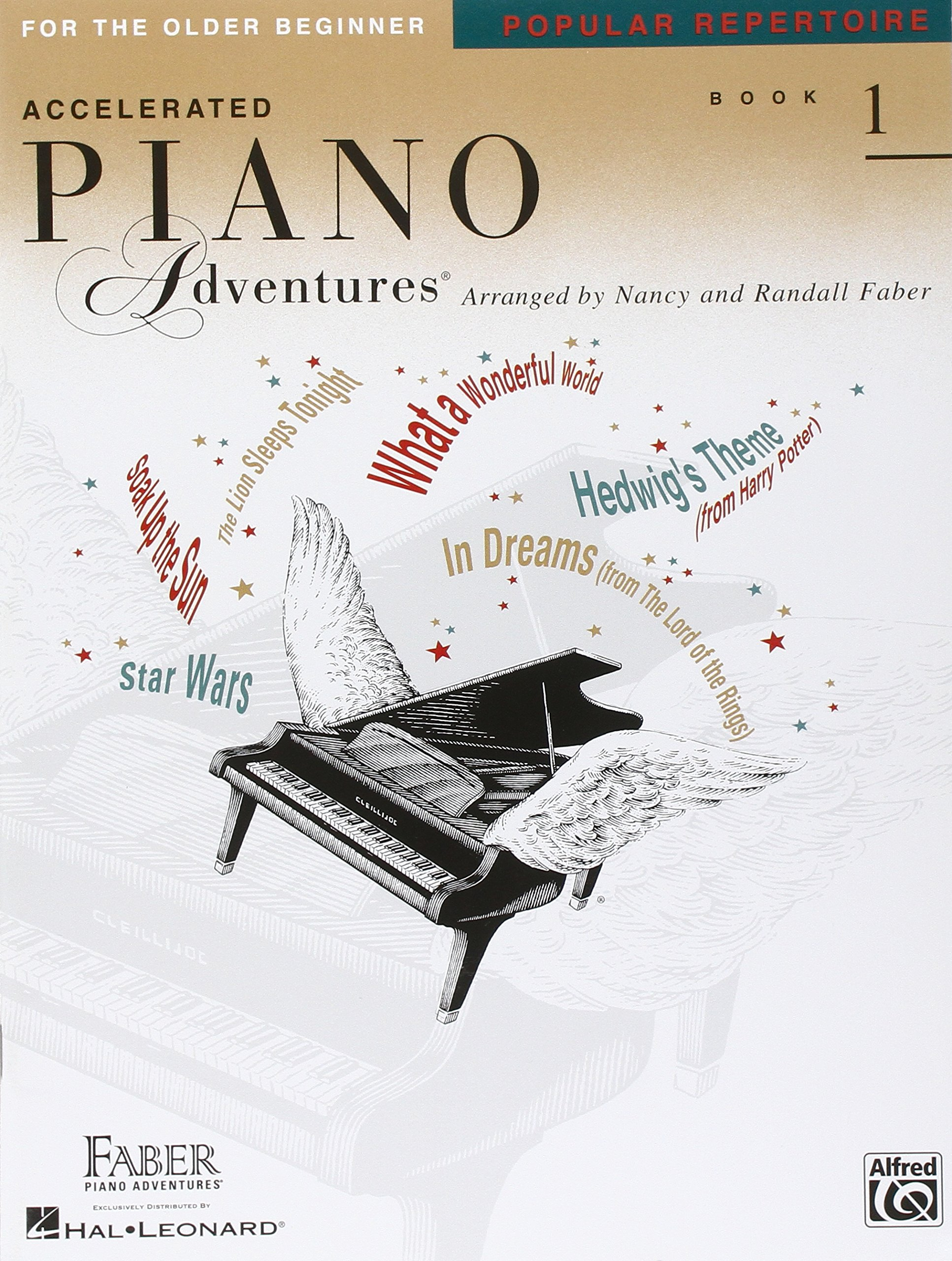 Accelerated Piano Adventures for the Older Beginner: Popular Repertoire, Book 1 (Faber Piano Adventures)