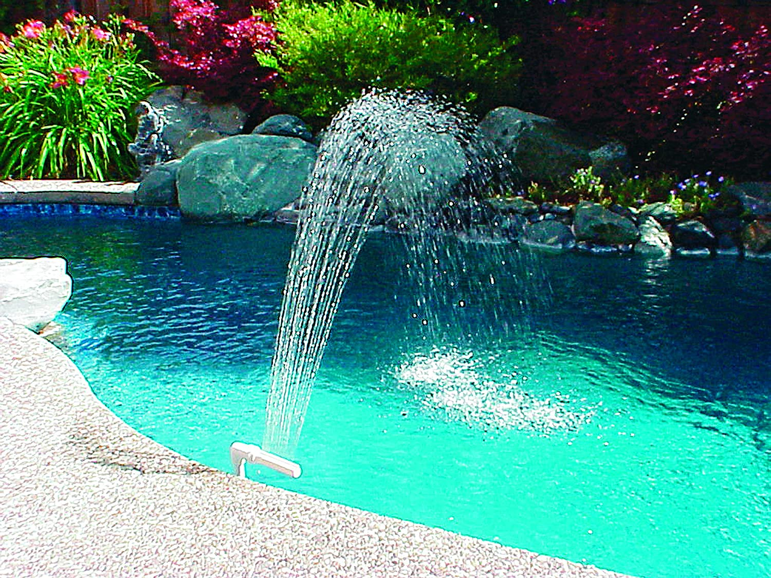 Poolmaster Swimming Pool and Spa Waterfall Fountain