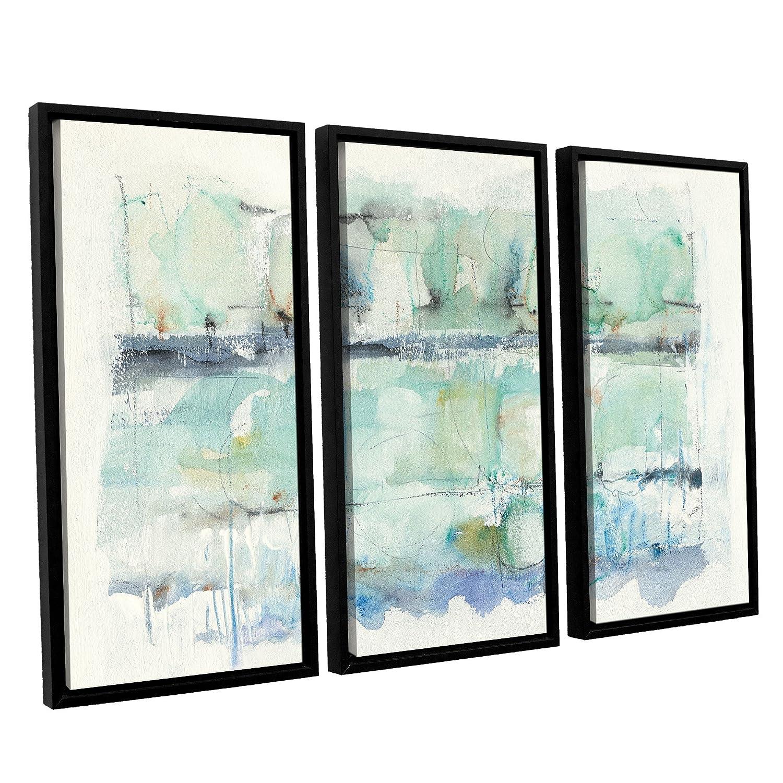 Mike Schick North Shore Crop 3 Piece Floater Framed Canvas Set 36X54
