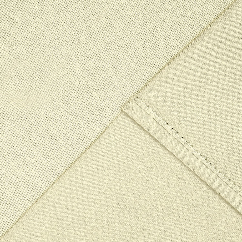 Aspire Linens Luxury Cotton Blend 1000 Thread Count Sheet Set California King White CVC1000-CK-WHT-15BRF