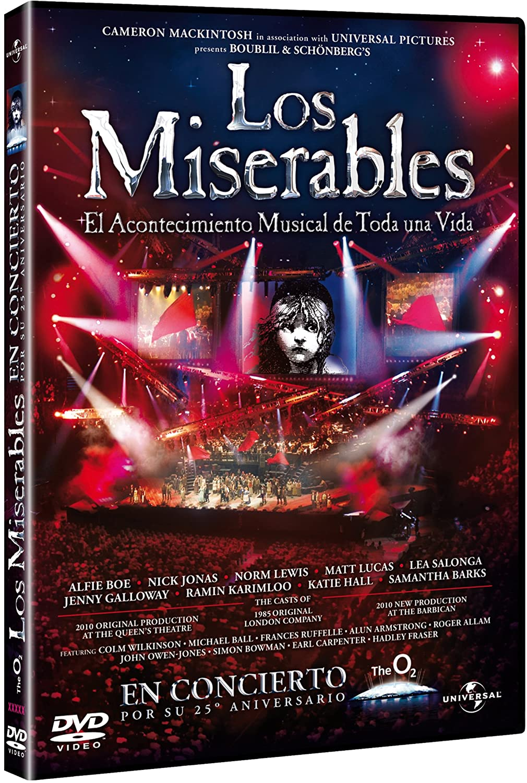 Los miserables: El musical [DVD]: Amazon.es: Alfie Boe, Nick Jonas ...