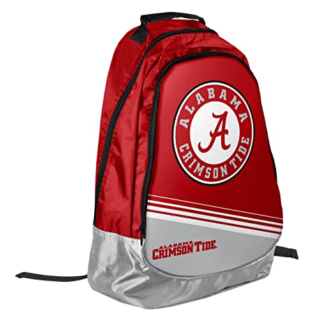 Image Unavailable. Image not available for. Color  Forever Collectibles  NCAA Alabama Crimson Tide 2015 Stripe Core Backpack ... 44cc329502a65