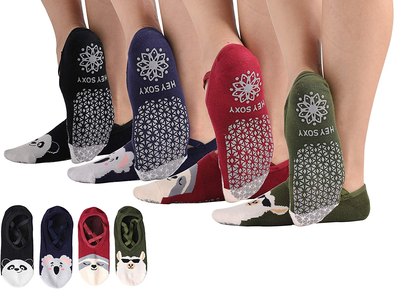NonSlip Cushioned Exercise Fitness Gym Workout Mat Yoga Physio Pilates Bag Socks
