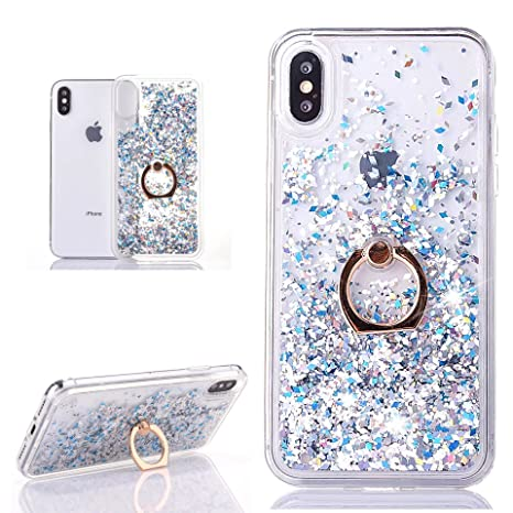 iphone x custodia anello bianco