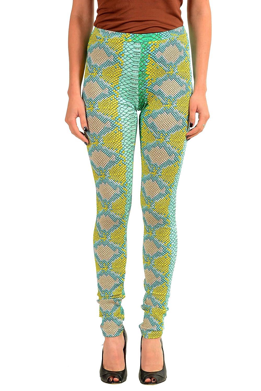 Just Cavalli Womens Multi-Color Stretch Leggings US S IT 40