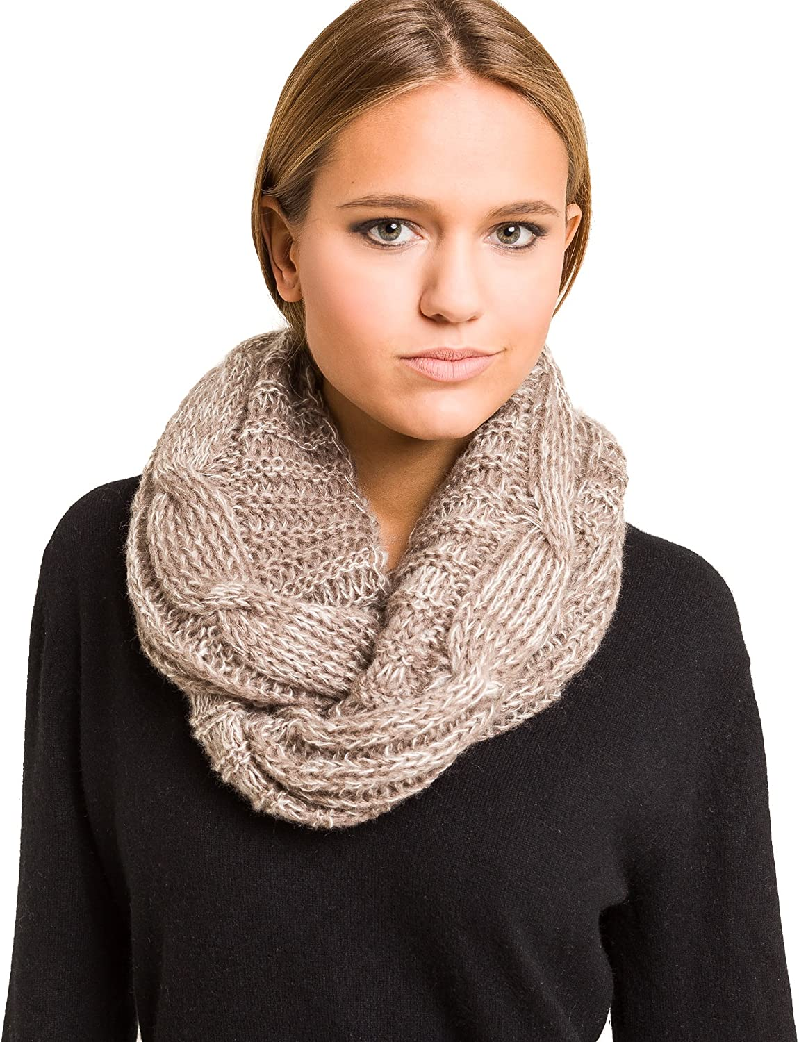 Knitted Scarf Women Fall...