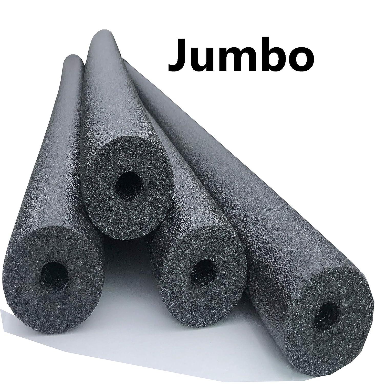 Flex Connex 4 Pack Jumbo 60 Inch x 3.5 Inch Jumbo Swimming Pool Noodle Foam Multi-Purpose Blue