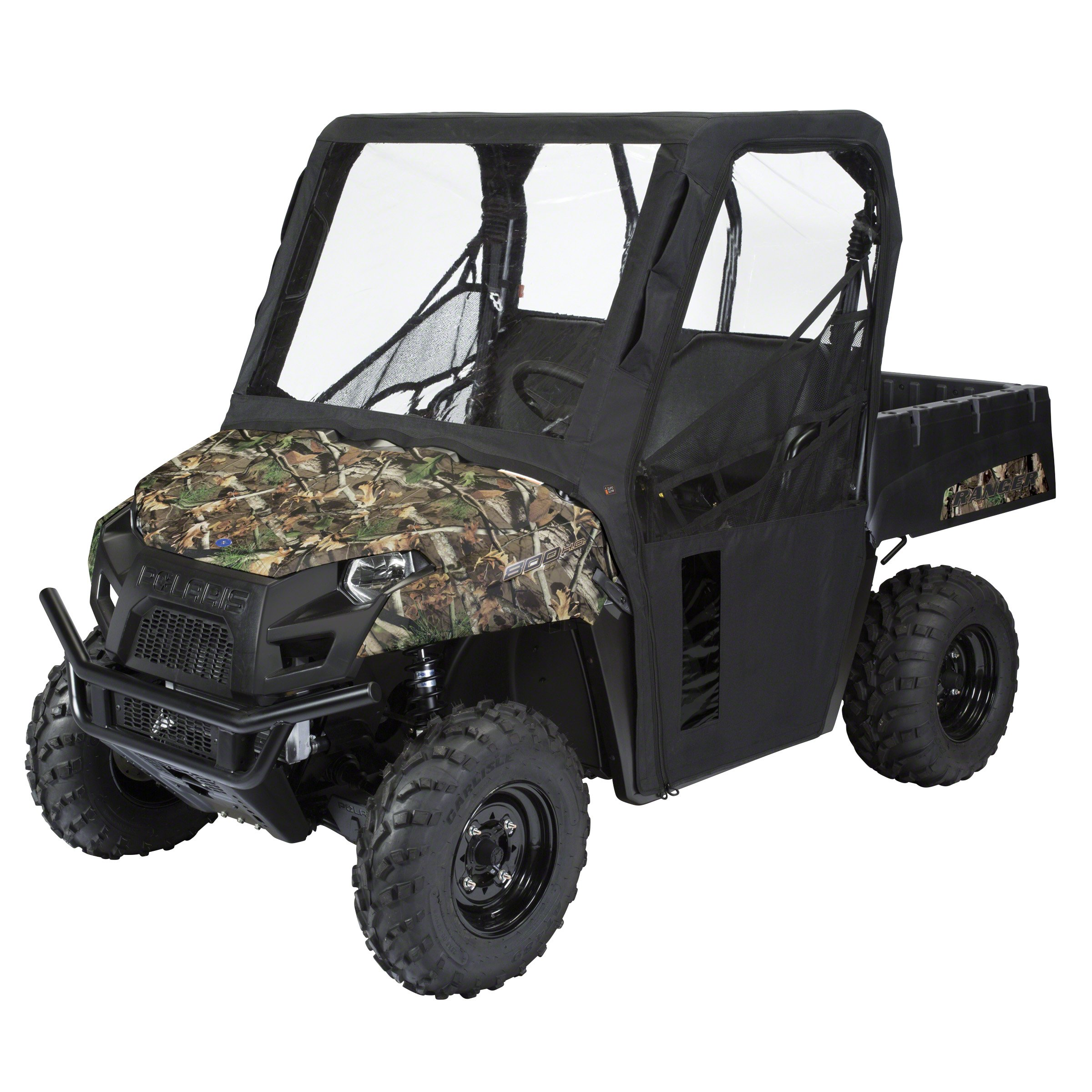 Classic Accessories 18-020-010401-00 QuadGear Black UTV Cab Enclosure Fits Kawasaki Teryx by Classic Accessories
