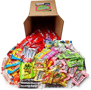 Favorite Candy Mix Stocking Stuffer - 3 Pounds of Skittles, Sour Patch, Swedish Fish, Starburst, Airheads, & More by Snackadilly (3)