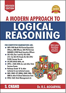 A Modern Approach to Logical Reasoning (RS Aggarwal) 2017 Edition price comparison at Flipkart, Amazon, Crossword, Uread, Bookadda, Landmark, Homeshop18
