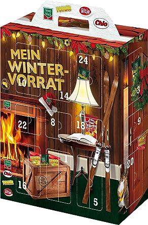 Funnyfrisch Knabber Adventskalender Mit 24 Knusprigen Snacks 1er Pack 1 X 640 G