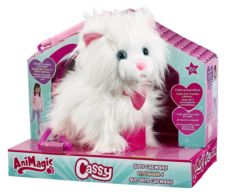 jouet chat avec laisse