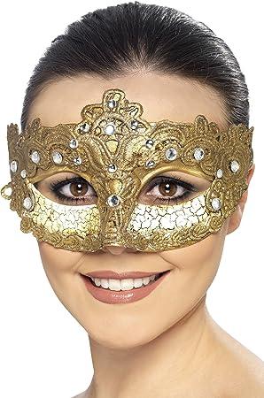 Luxury Venetian Colombina Eyemask Fancy Dress Eyemasks