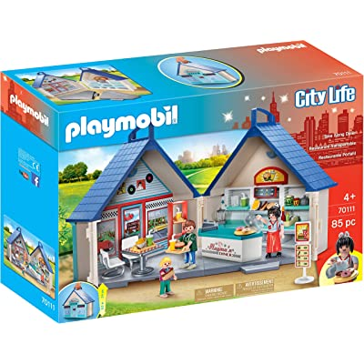 PLAYMOBIL Take Along Diner: Toys & Games