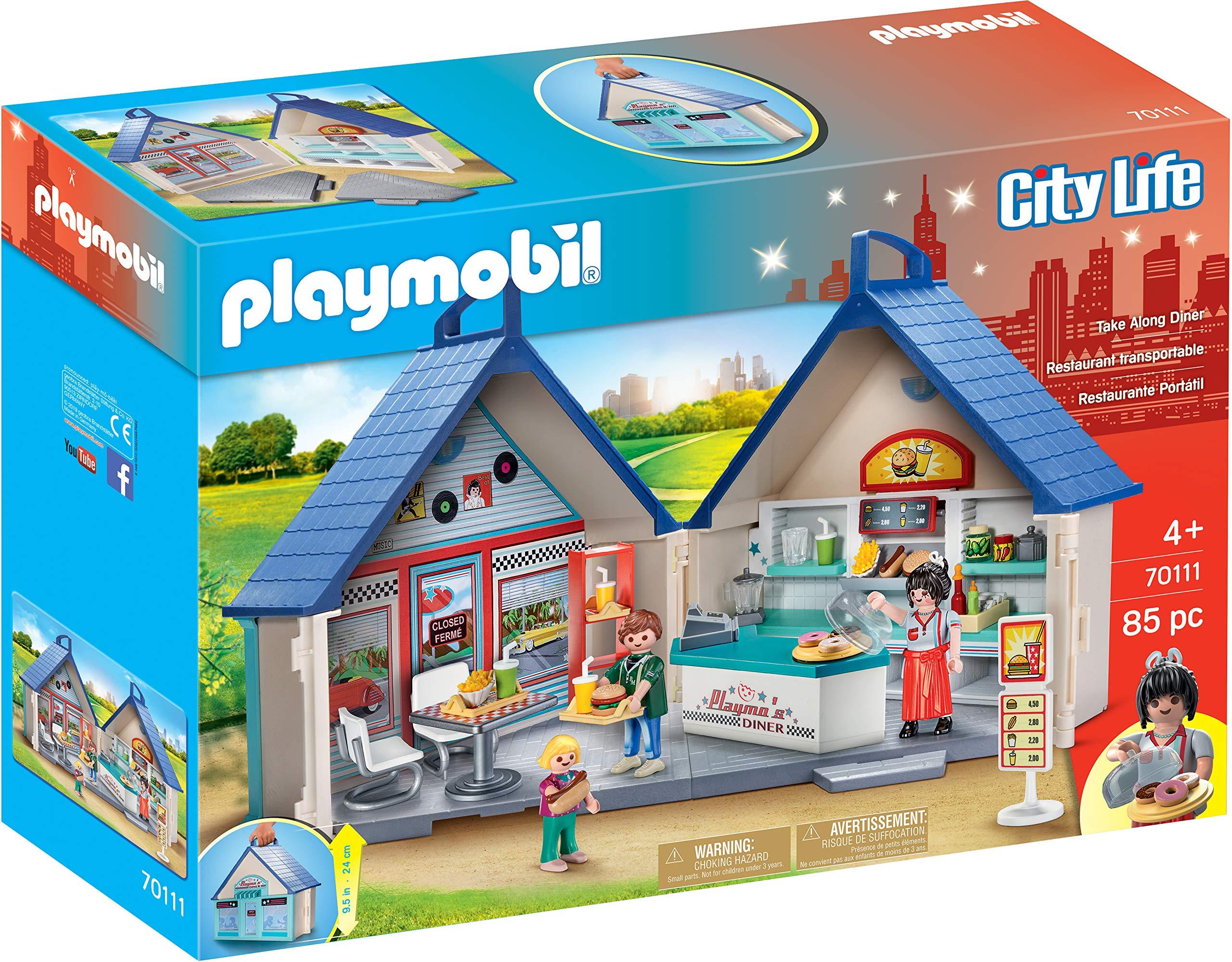 PLAYMOBIL Take Along Diner