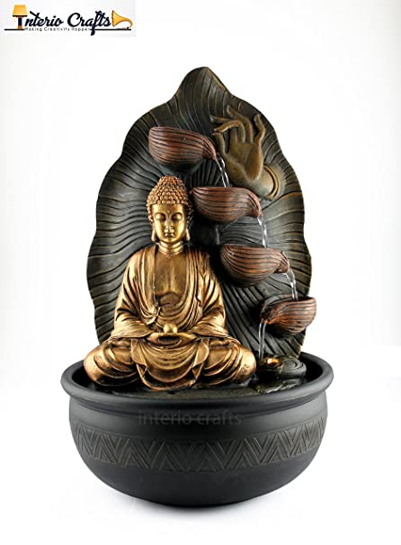 Lord buddha dhyana mudra water fountain for home decor indoor lord buddha dhyana mudra water fountain for home decor indoor outdoor water fountain lord workwithnaturefo