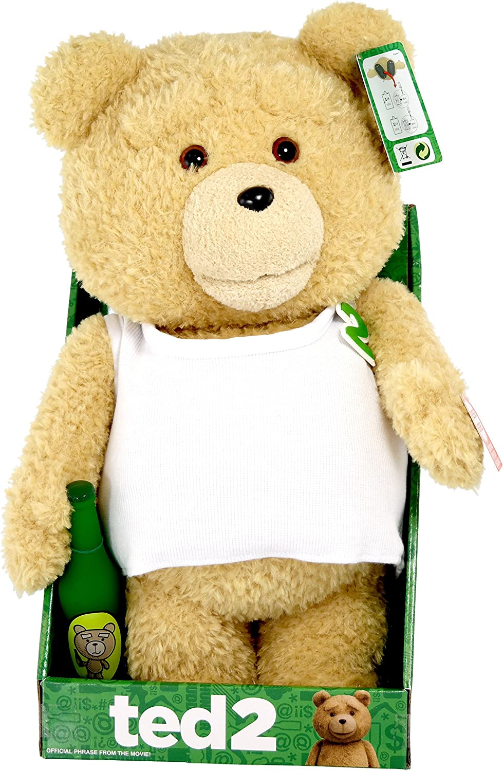 """TED 2 Ted 16/"""" Animated Plush Suit Outfit with Sound by Commonwealth #NEW"""