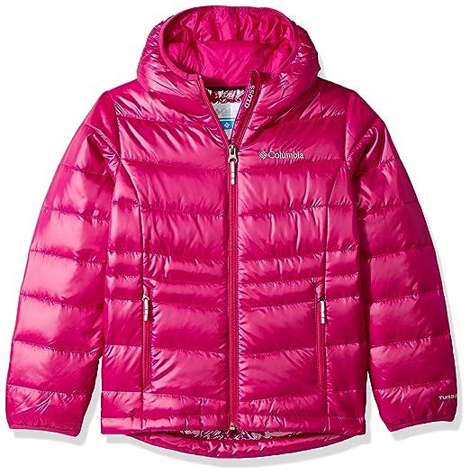 3086c6e1b Amazon.com  Columbia Girls Gold 550 TurboDown Hooded Down Jacket ...