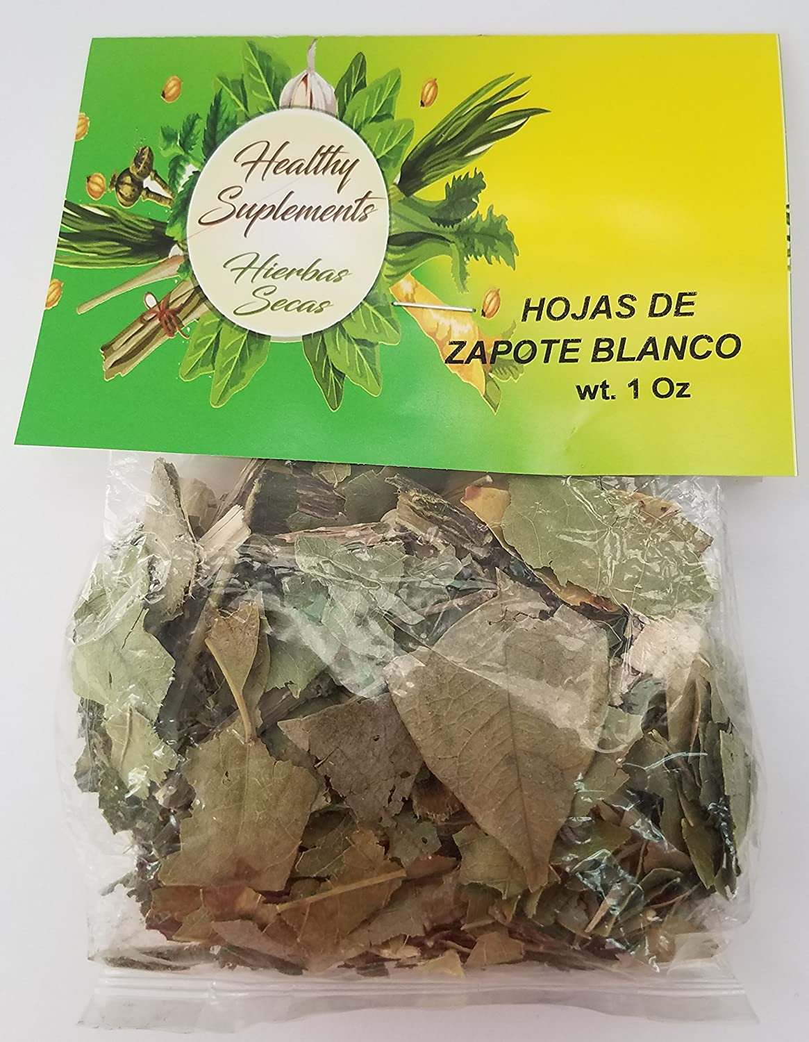 Amazon.com: Hojas de Zapote Blanco 1 oz: Health & Personal Care