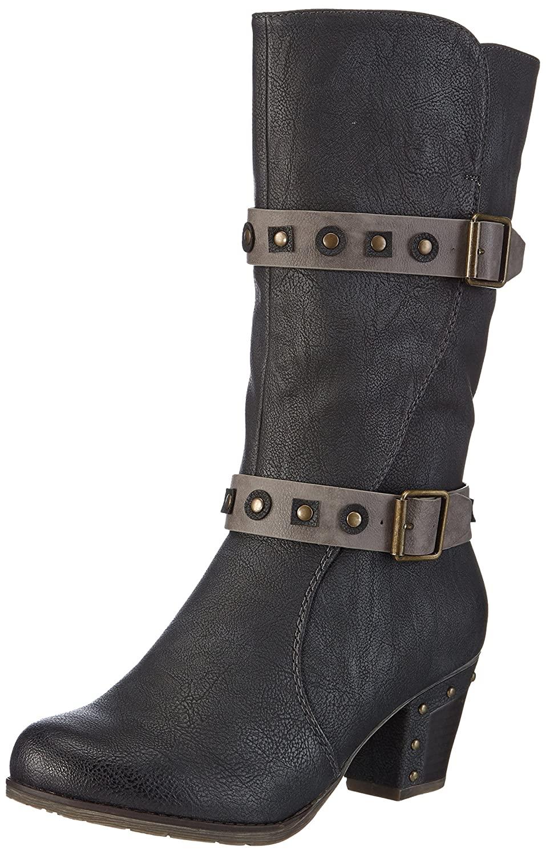 Rieker 97654-00 Damen Langschaft Stiefel  Amazon.de  Schuhe   Handtaschen 3bb841f4f8
