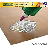 "RL Treats Non-Stick Sheet Teflon Mat Craft Sheet 15"" x 18"" Pack of 4"
