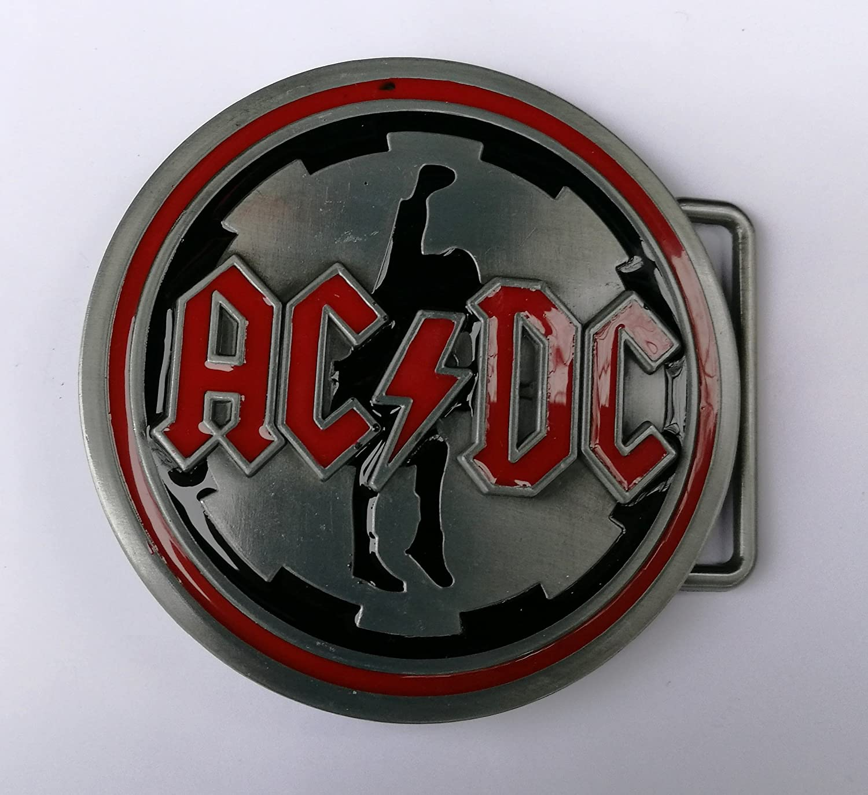 AC/DC Music HEAVY METAL ROCK belt buckle Choppershop