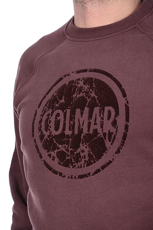 COLMAR ORIGINALS Felpa uomo girocollo con logo in rilievo 8268 9RR 254 blu XXL