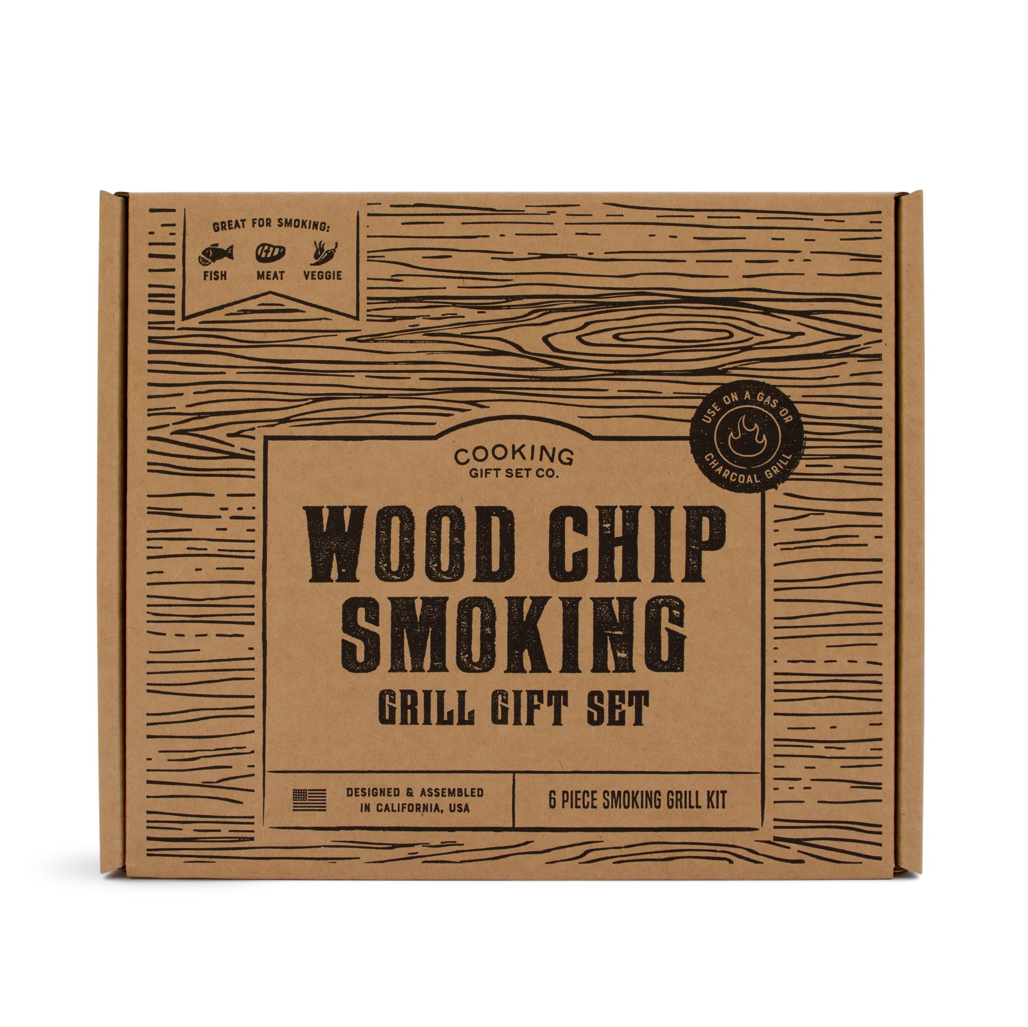 Details about Cooking Gift Set | BBQ Smoker Wood Chip Grill Set | Perfect Gift for Guys |  sc 1 st  eBay & Cooking Gift Set | BBQ Smoker Wood Chip Grill Set | Perfect Gift for ...