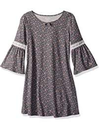 6b89475f63957 The Children's Place Big Girls' Long Sleeve Casual Dress