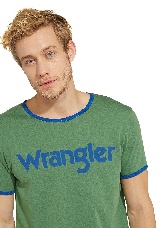 Wrangler Kabel Tee T-Shirt Uomo