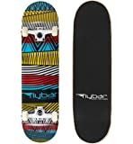 "Flybar 31"" x 8"" Complete Beginner Skateboards 7 Ply Maple Wood Board Pre Built - 7 Designs Available"