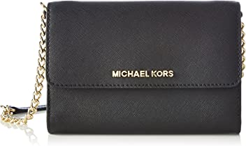 MICHAEL Michael Kors Womens Jet Set Large Phone Cross Body Bag