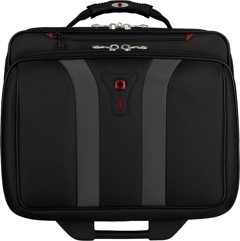 Swissgear Granada Rolling Case Nylon for Upto 17-Inch Notebooks Black