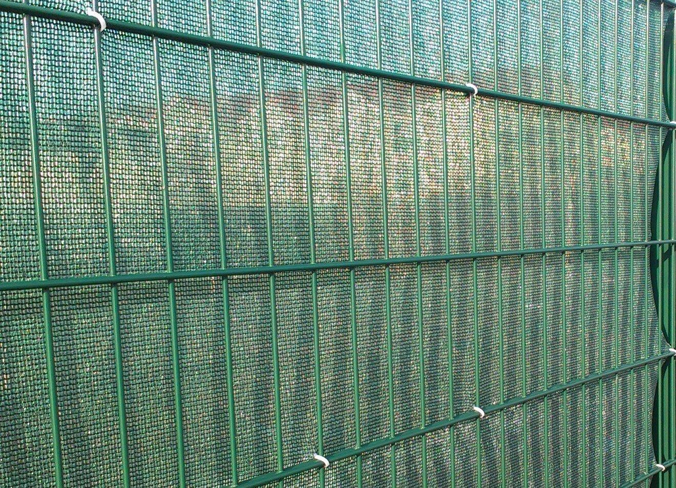 Tennisblende Sichtschutz 2 00 x 12 00 m dunkelgrün Amazon
