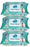 GLIDER BABY WIPES (100 Pcs x 3 Pack) (300 Pcs)