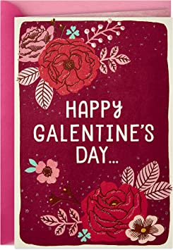Amazon Com Hallmark Valentine S Day Card Happy Galentine S Day Office Products