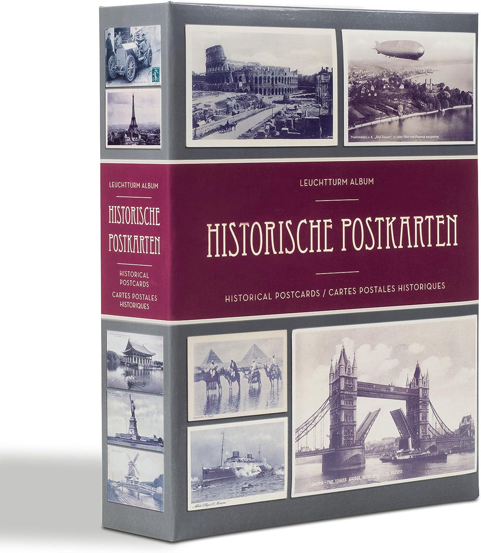 Album para 200 tarjetas postales históricas, con 20 fundas transparentes: Amazon.es: Juguetes y juegos
