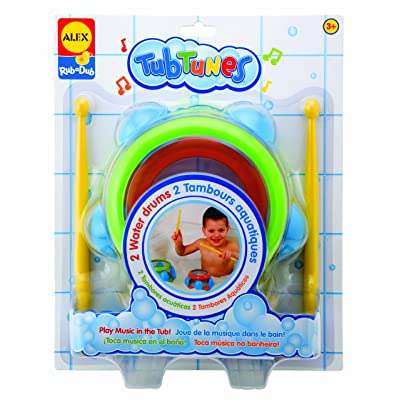 ALEX Toys Rub a Dub Tub Tunes Water Drums: Toys & Games