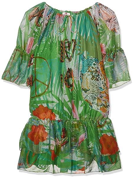 Lola Casademunt Catherina, Vestido Casual para Mujer, Verde, X-Large(Tamaño