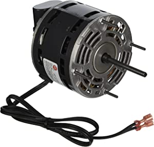 Modine Manufacturing 1/12 hp, 1625 RPM, 1.5 amps, 115V MODINE HOT DAWG BLOWER MOTOR FOR, 5/16&quot x 2-7/8&quot, GRAY/BLACK
