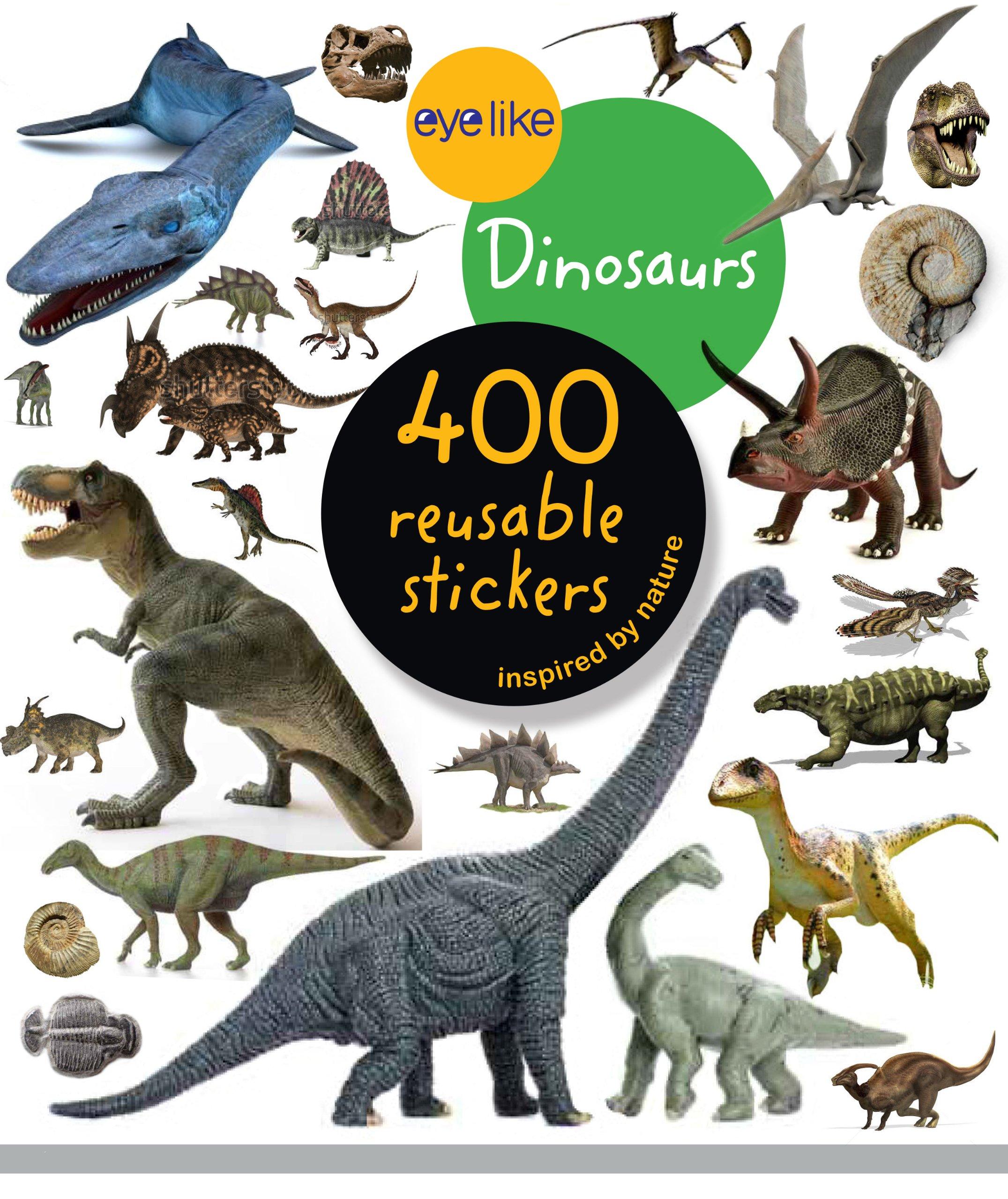 Eyelike Stickers Dinosaurs Workman Publishing 9780761174844 Amazon Books