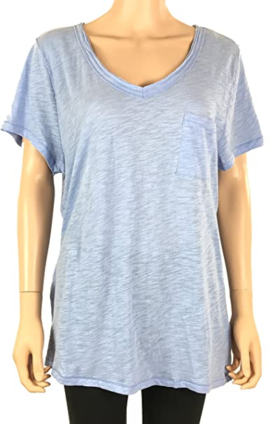 9e4bdc05be73 Image Unavailable. Image not available for. Color: Maison Jules Womens  Cotton T-Shirt Water Drop XXL