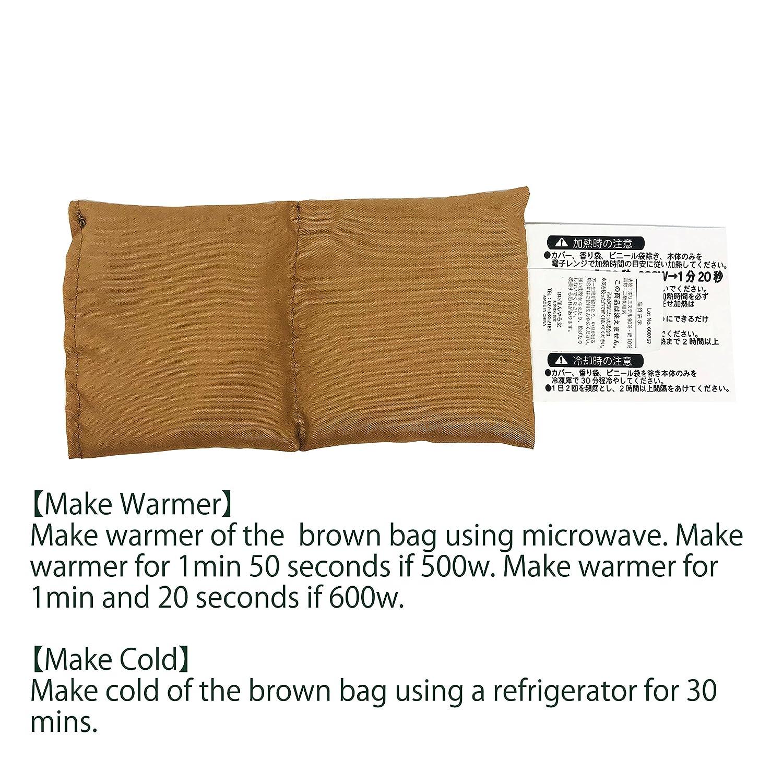 including Manual in English Shiba Zukin Eye Pillow Warming and ...
