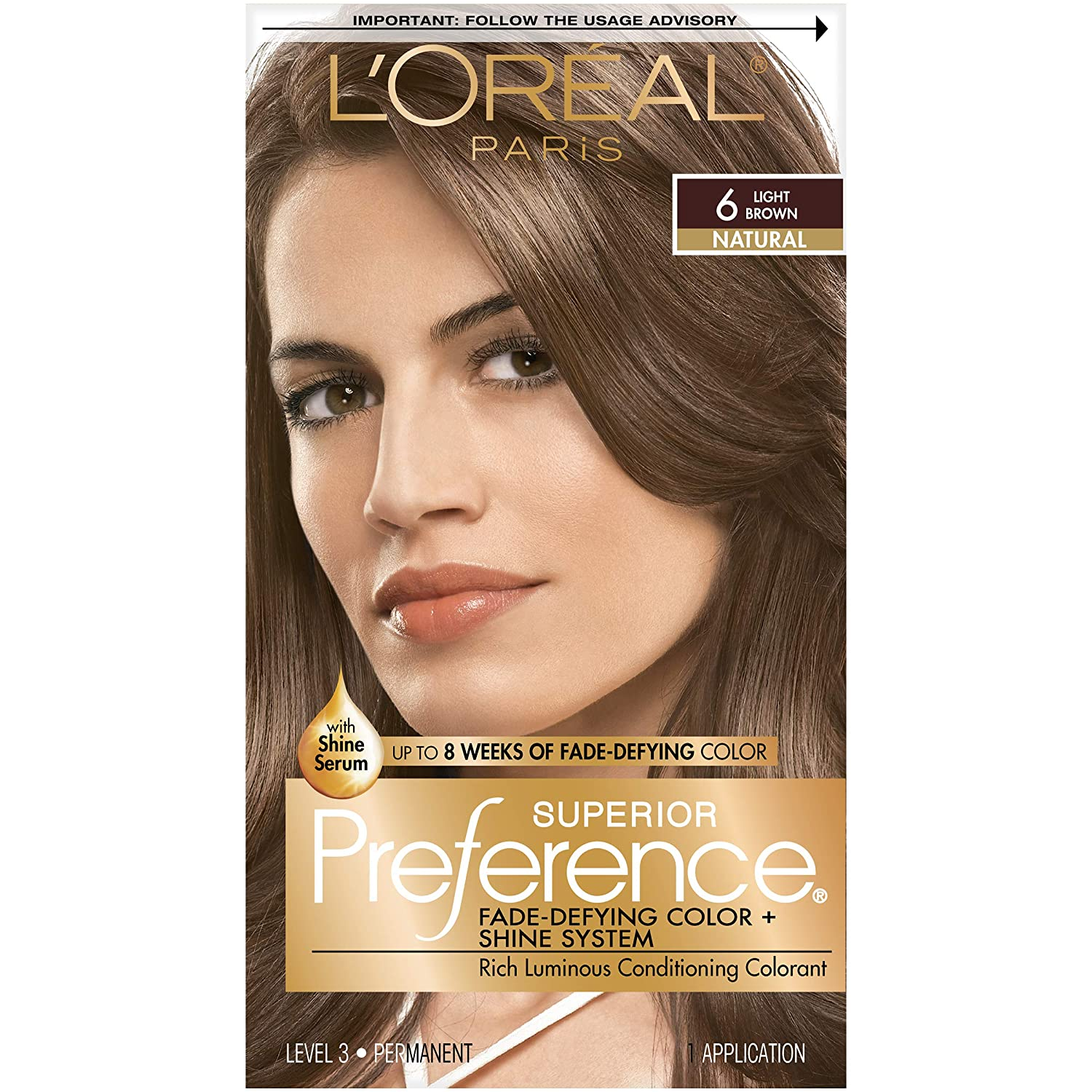 Buy Loreal Preference Hair Color Light Brown Online At Low Prices