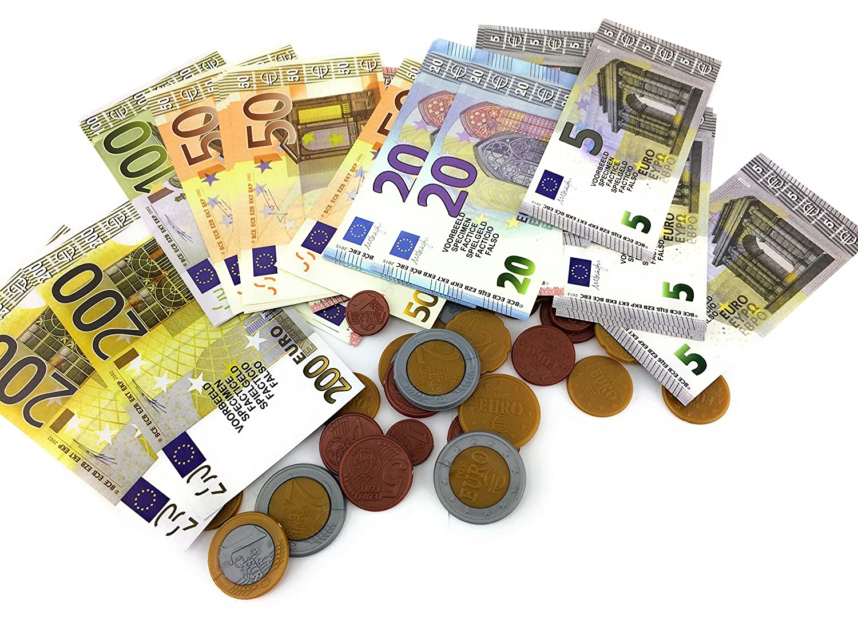 Philumo Spielgeld Euro Münzen Und Scheine Bestes Weihnachtsgeschenk