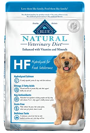 Blue Buffalo Natural Veterinary Diet Hydrolyzed for Food Intolerance for Dogs 22Lbs