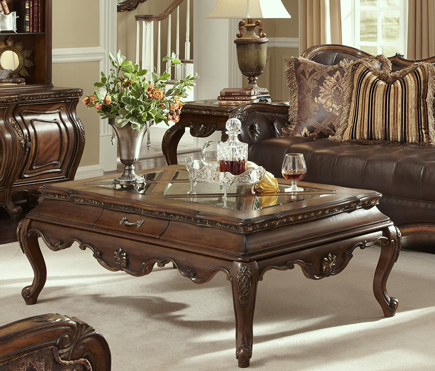 Amazon Lavelle Melange Coffee Table Living Room Furniture by