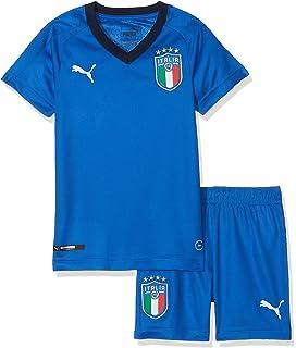 1a7a0d2cf4c11 Puma FIGC Italie Maillot Domicile Enfant  Amazon.fr  Sports et Loisirs