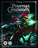 Pirates of the Caribbean: Curse of the Black Pearl (Limited Edition Artwork Sleeve) [Blu-ray] [Region Free]